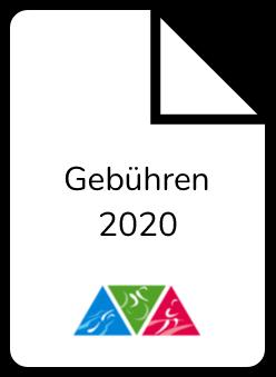 Gebühren 2020